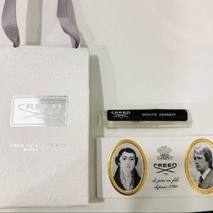 Creed white amber travel purse size mini